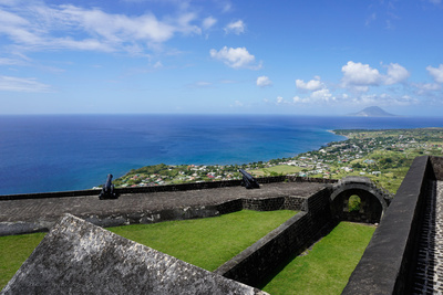 Brimstone Hill Fortress, St. Kitts, St. Kitts and Nevis Photographic Print by Robert Harding