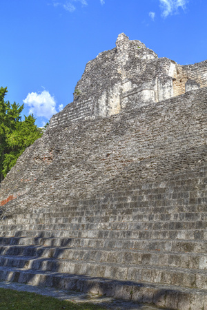 Structure Viii, Becan, Mayan Ruins, Campeche, Mexico, North America Photographic Print by Richard Maschmeyer