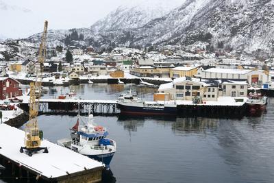 Svolvaer, Lofoten Islands, Nordland, Arctic, Norway, Scandinavia Photographic Print by Sergio Pitamitz