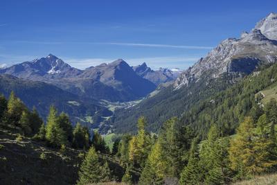 Graubunden, Swiss Alps, Switzerland, Europe Photographic Print by Angelo Cavalli