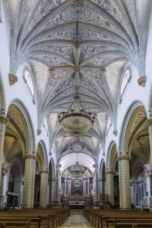 The Manueline and Portuguese Baroque Cathedral Church of Our Lady of the Assumption Photographic Print by Alex Robinson