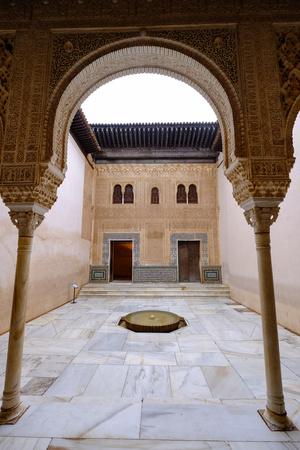 Palacios Nazaries, the Alhambra, Granada, Andalucia, Spain Photographic Print by Carlo Morucchio