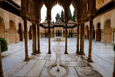 Palace of the Lions (Palacio De Los Leones), the Alhambra, Granada, Andalucia, Spain Photographic Print by Carlo Morucchio
