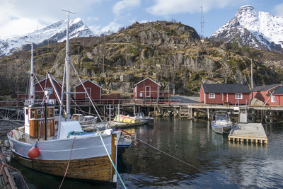 Nusfjord, Lofoten Islands, Nordland, Arctic, Norway, Scandinavia Photographic Print by Rolf Richardson