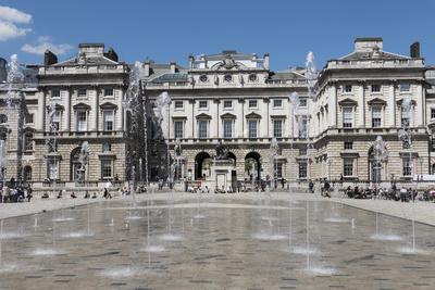 Somerset House, London, England, United Kingdom Photographic Print by Rolf Richardson