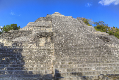 Structure Ix, Becan, Mayan Ruins, Campeche, Mexico, North America Photographic Print by Richard Maschmeyer