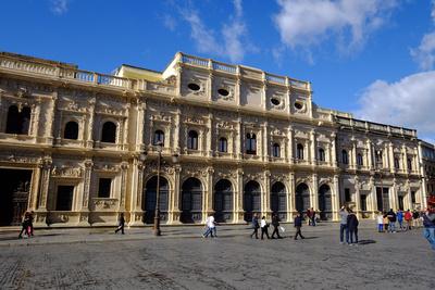 Ayuntamiento, Plaza De San Francisco, Seville, Andalucia, Spain Photographic Print by Carlo Morucchio