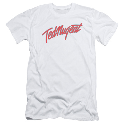 Ted Nugent- Clean Logo (Slim Fit) T-shirts