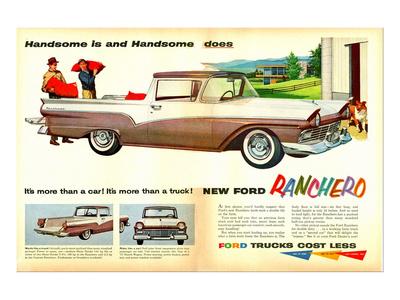 Ford 1957 Ranchero - Handsome Print