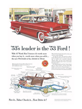 Ford 1953 Leader is the Ford Print