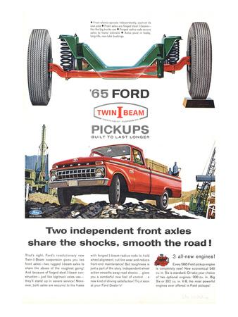 Ford 1965 Twin-I-Beam Pickups Prints