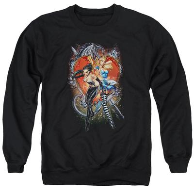 Crewneck Sweatshirt: Zenoscope- Heart T-Shirt