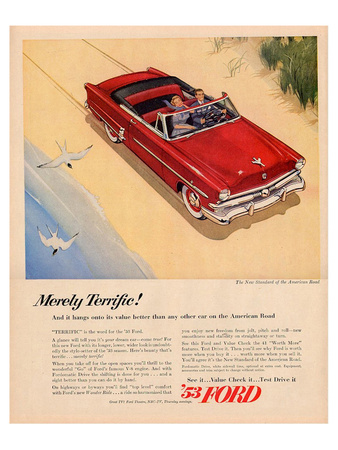 Ford 1953 - Merely Terrific Prints