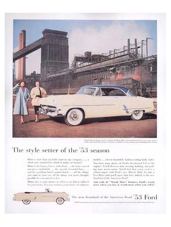 Ford 1953 Season Style Setter Prints