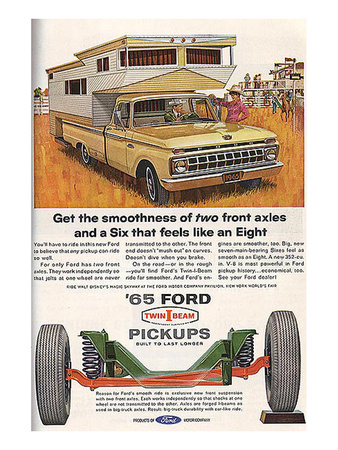 Ford 1965 Get Smoothness Posters