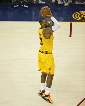 2015 NBA Finals- Game Three Photo by Gregory Shamus
