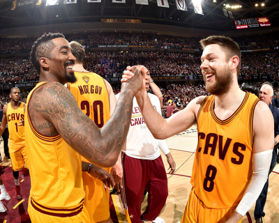 2015 NBA Finals - Game Three Photo by Andrew D Bernstein