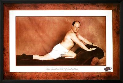 Seinfeld George The Timeless Art of Seduction TV Poster Print Póster enmarcado con Lamina
