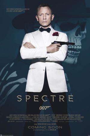 James Bond- Spectre Skull Prints
