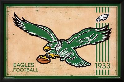 Philadelphia Eagles - Retro Logo 14 Prints