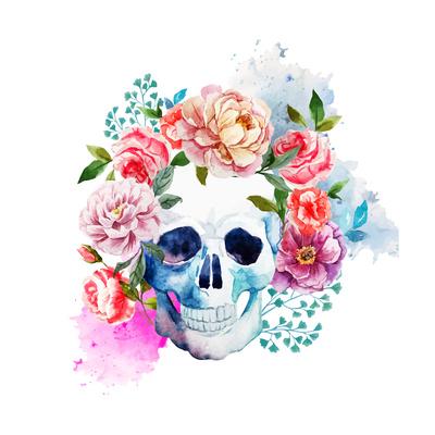Skull Posters by  Zenina