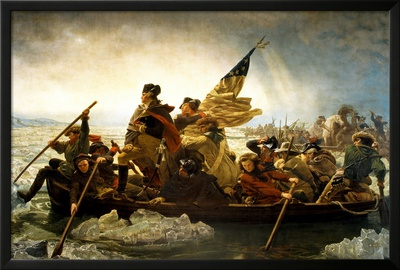 Washington Crossing the Delaware River Posters by Emanuel Leutze