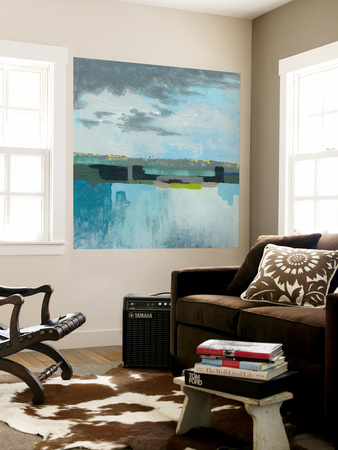 A Day at the Sea I Wall Mural by Grace Popp