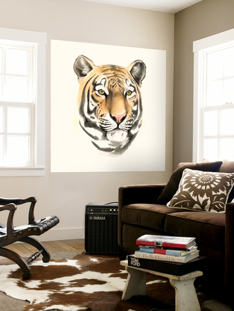 Safari Cat III Wall Mural by Grace Popp