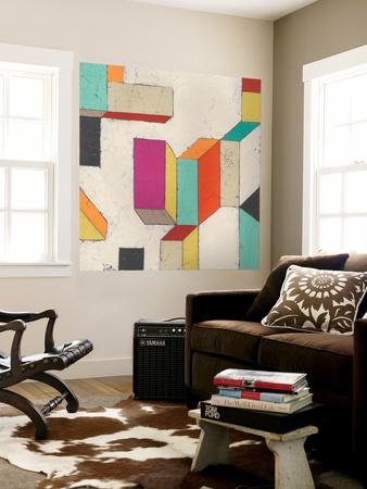 Tessellate II Wall Mural by June Erica Vess