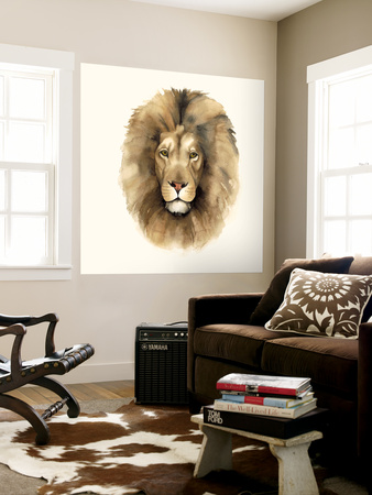 Safari Cat II Wall Mural by Grace Popp