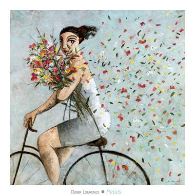 Petals Prints by Didier Lourenco