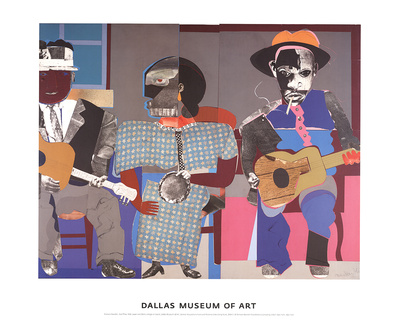 Soul Three Posters by Romare Bearden