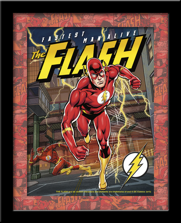 Flash 3D Framed Art Posters