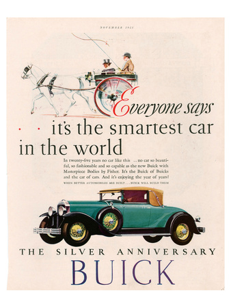GM Buick - Is the Smartest Car Prints