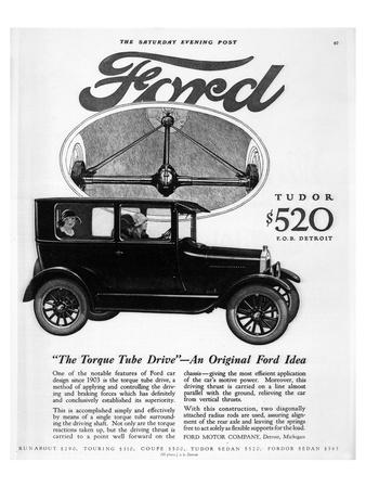 Ford Tudor - Torque Tube Drive Prints