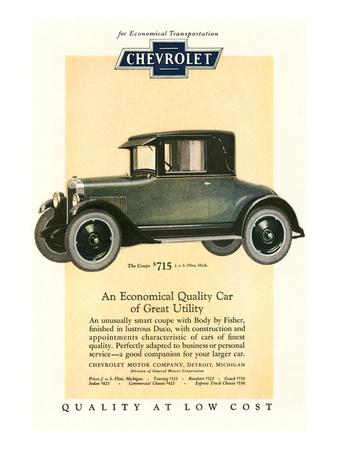 GM Chevrolet Economical Car Prints