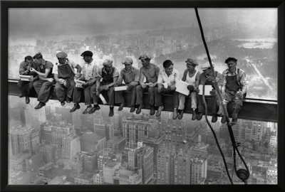 Lunch Atop a Skyscraper, c.1932 Prints by Charles C. Ebbets