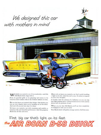 GM Buick-Car Light On Its Feet Posters