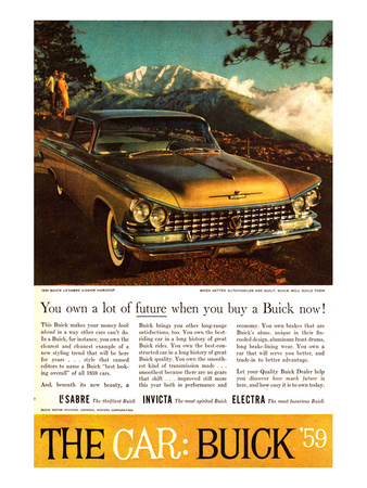 GM Buick - Own a Lot of Future Prints