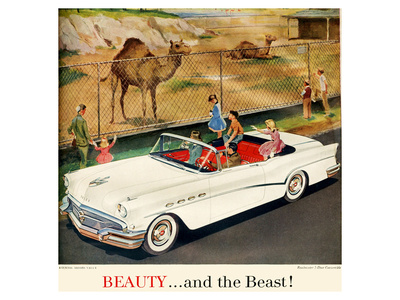 GM Buick -Beauty and the Beast Prints