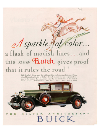GM Buick - Sparkle of Color Prints