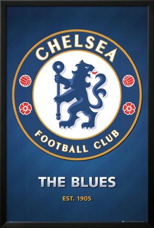 Chelsea FC Club Crest Prints