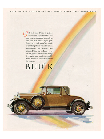 GM Buick Will Build Them Poster