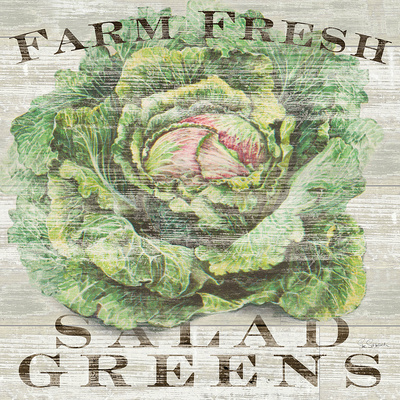 Farm Fresh Greens Prints by Sue Schlabach