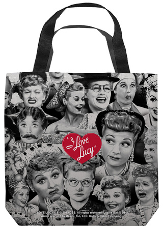 Lucy - Faces Tote Bag Tote Bag