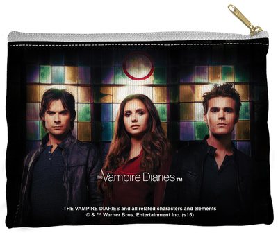 Vampire Diaries - Stained Glass Zipper Pouch Zipper Pouch