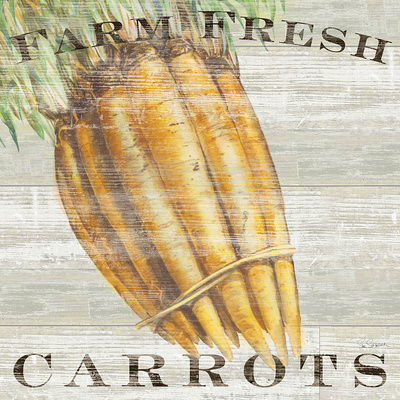 Farm Fresh Carrots Prints by Sue Schlabach