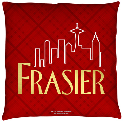 Frasier - Logo Throw Pillow Throw Pillow
