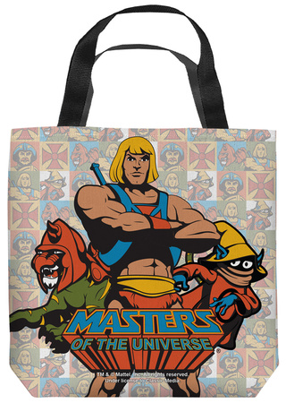 Masters Of The Universe - Heroes Tote Bag Tote Bag