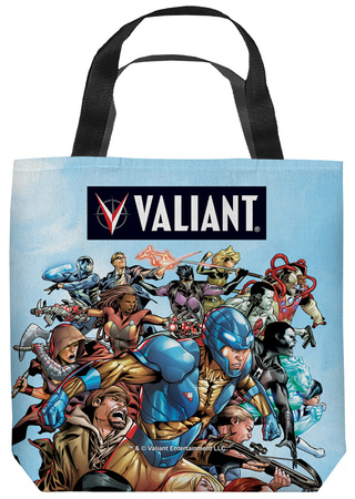 Valiant - Group Attack Tote Bag Tote Bag